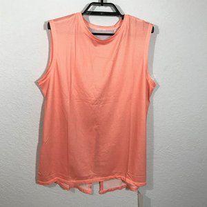 Lucky in Love NWT Peach Tennis GIRL POWER Tank Top